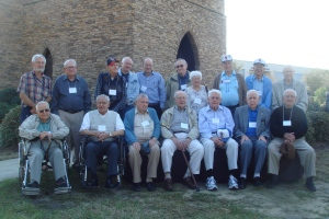 Matthew Rozell, 30th Infantry Veterans of WWII, Holocaust survivors at Mighty Eighth Air Force Museum, March 2, 2012.