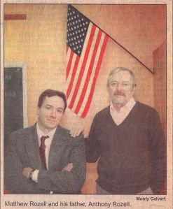 Feb 3, 1992 Glens Falls Post Star story. Captain and the Kid.