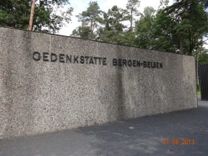 Memorial site, Bergen Belsen.