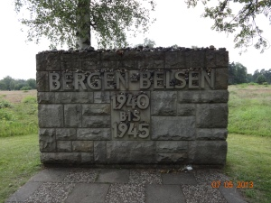 Bergen Belsen on July 5, 2013.