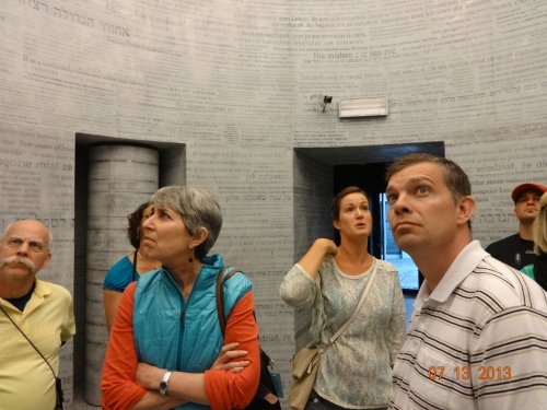 Our teachers in Cracow, Poland, Schindler Factory Museum of Cracow.