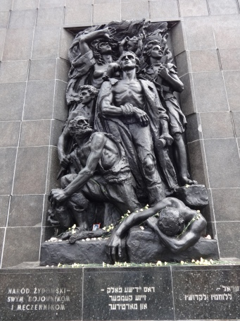 warsaw ghetto memorial
