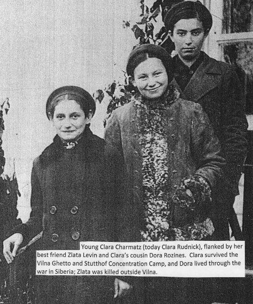 Clara Rudnick around age 15.
