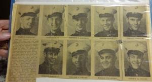 Glens Falls Post Star. Dom Fallacaro, bottom row, third from left.