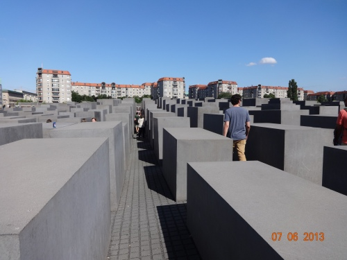 Memorial to the Murdered Jews of Europe. Heart of Berlin.