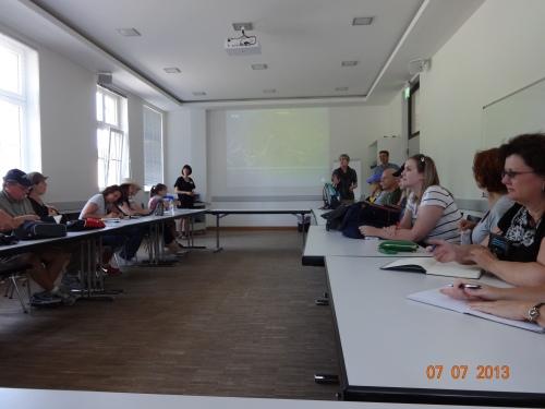 Classroom at Sachenhausen.