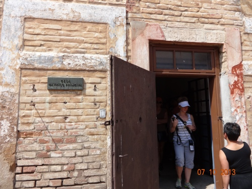 Inside the Small Fortress. Gavrilo Princip, whose shots ushered in WW!, died here in Cell 1 in 1918.