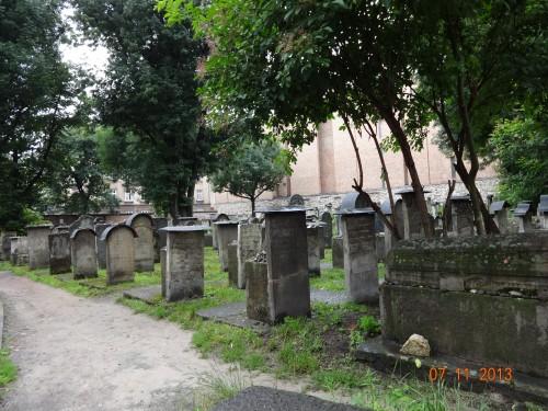 Restored Jewish Cemetery. Remuh.