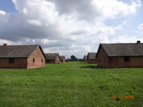 Women's Barracks. Auschwitz II.