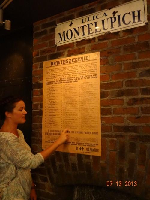 Montelupich Prison, the Gestapo prison in Krakow.