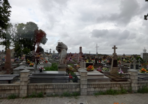 Catholic cemetery, Poland.