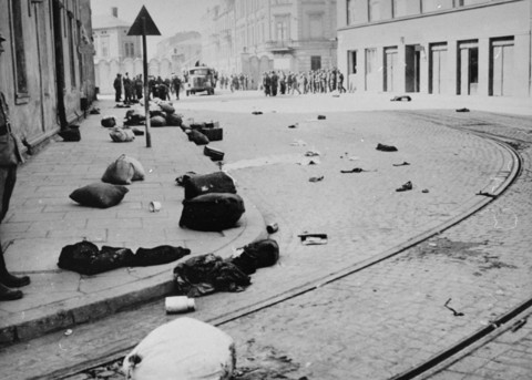 Liquidation of the Krakow ghetto.
