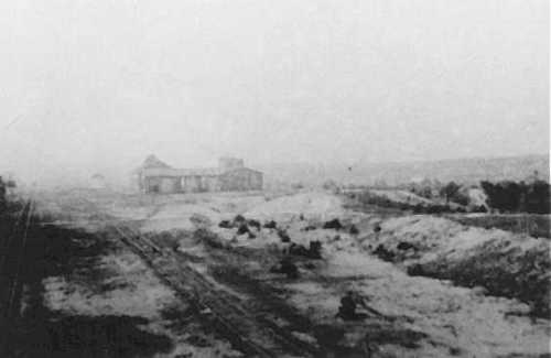 End of the Belzec extermination camp, c 1944.  USHMM