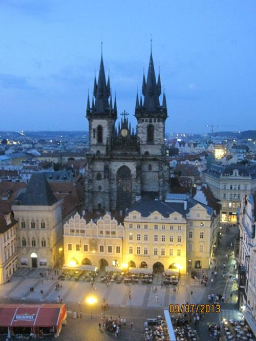 Prague by Alan Bush.