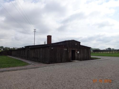 "Majdanek. Gas Chamber building. ""Showers""."