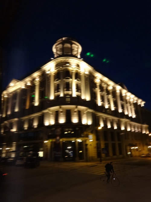 The Bristol in Warsaw. A backdrop for Leon Uris' classic Mila 18.