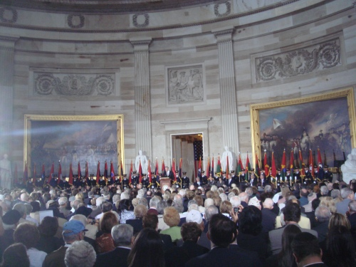 Capitol Rotunda, 2010 DOR Ceremony.