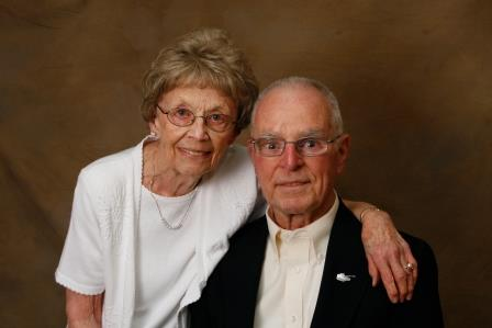 Mr. & Mrs. Gast, Holocaust Survivors-American Soldiers reunion, 2009.