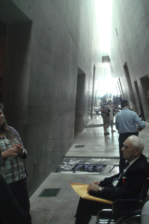 Frank W. Towers, Yad Vashem, 2011.